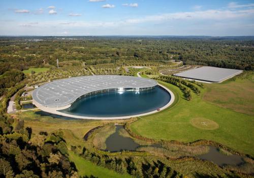 McLaren Technology Center in Woking, England
